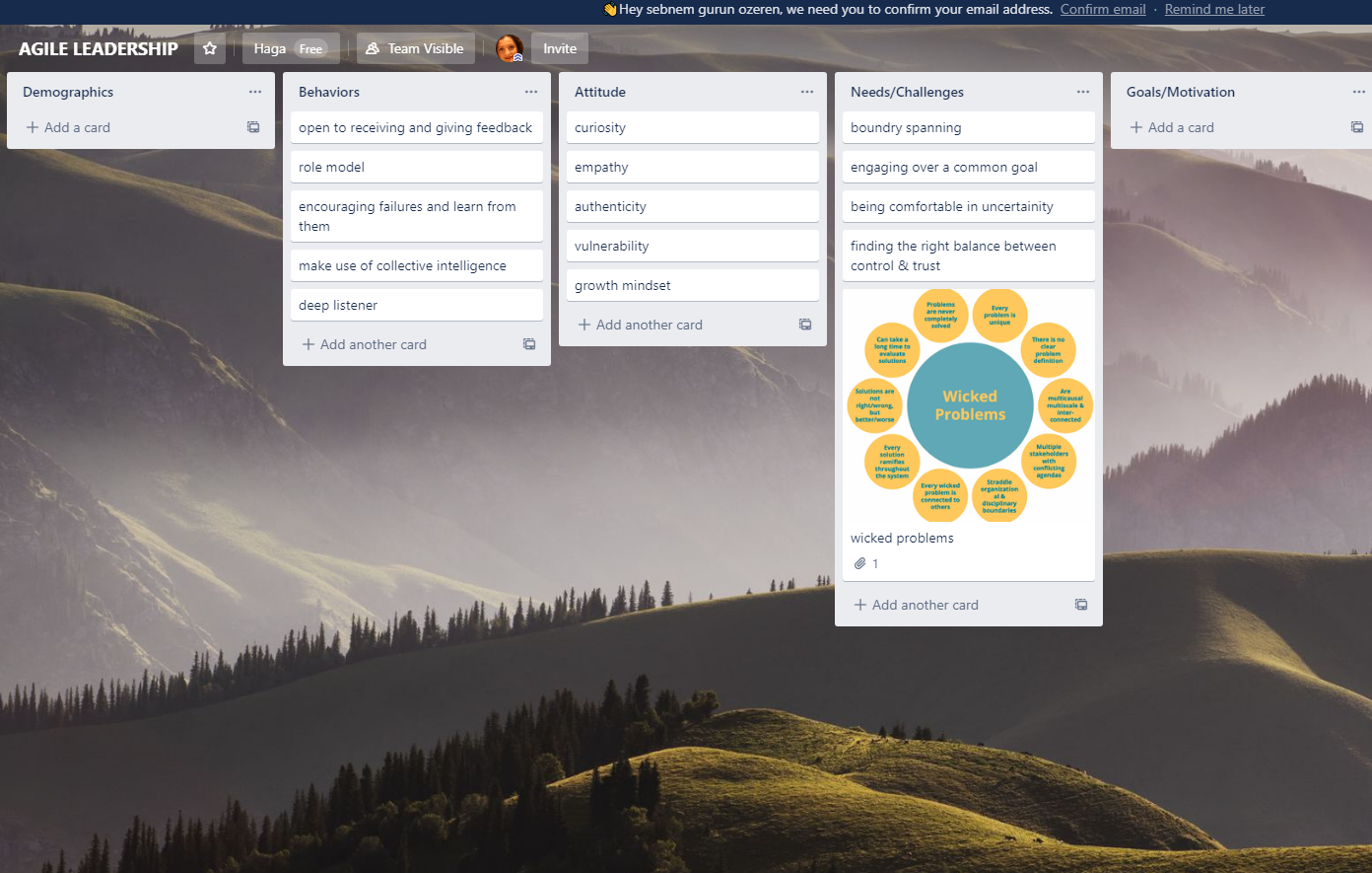 agile leadership trello